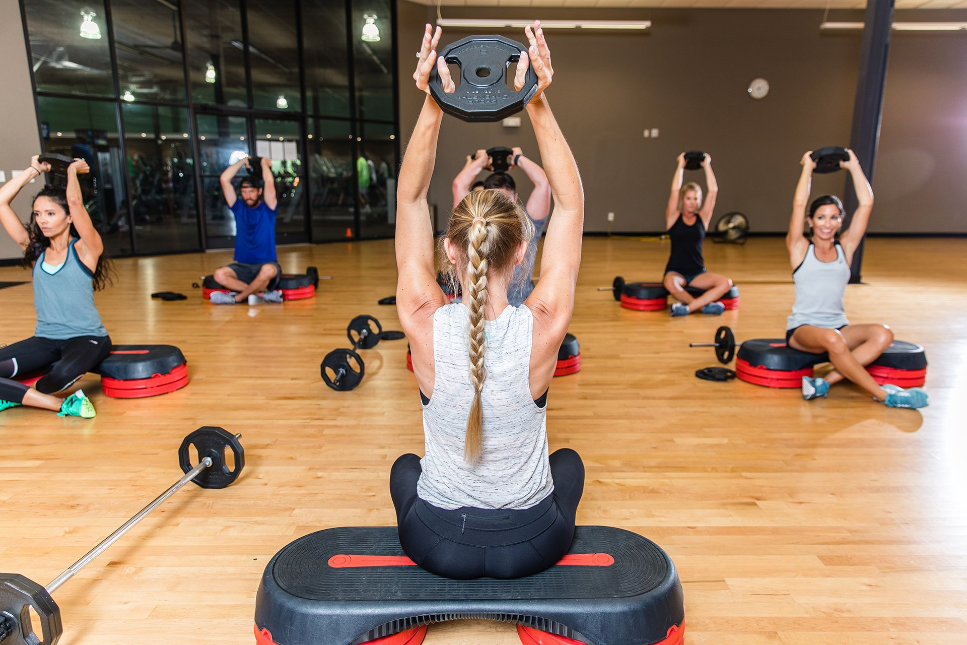 Studio Fitness class at O2 Fitness
